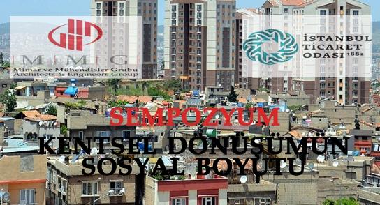 Kentsel dönüşümün sosyal boyutu tartışılacak