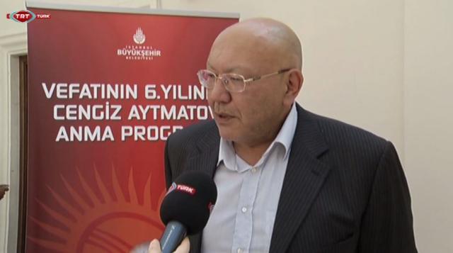 İstanbul'da Cengiz Aytmatov paneli (video)