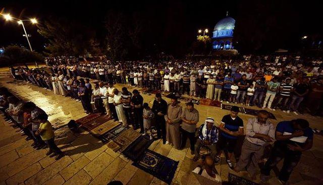 Kudüs'te Ramazan neşesini fotoğraflıyorlar