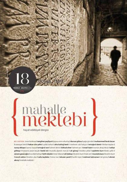 Mahalle Mektebi'nin 18. sayısı çıktı