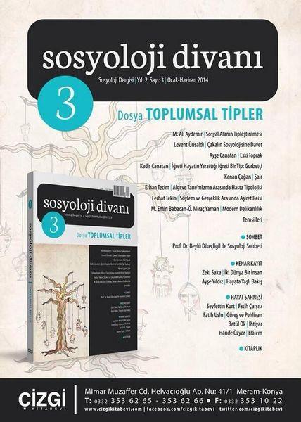 Sosyoloji Divanı'nın 3. sayısı çıktı