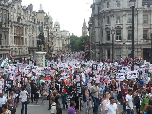Londra'dan Gazze'ye bir yürüyüşün hikayesi