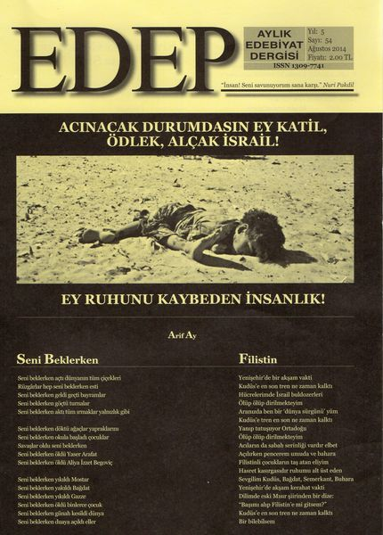 Gazze direnişi Edep'te