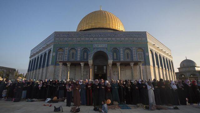 Müslüman kadınlara Kudüs'ü işaret etmişti