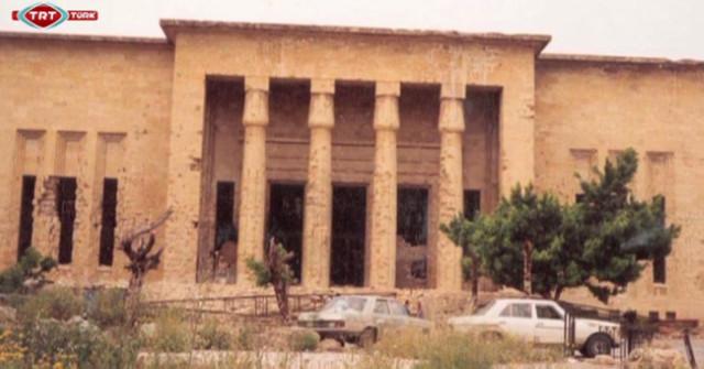 Lübnan müzesi iç savaşın da şahidi (video)