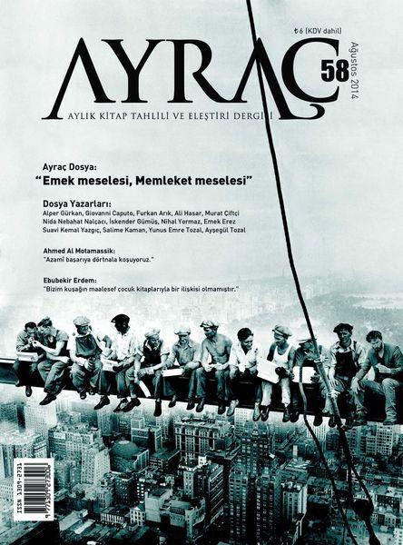Ayraç dergisinde 'emek' dosyası