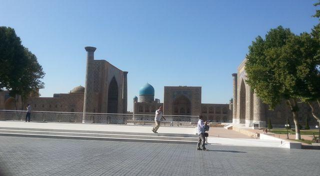 Özbekistan adeta bir açık hava müzesi gibi