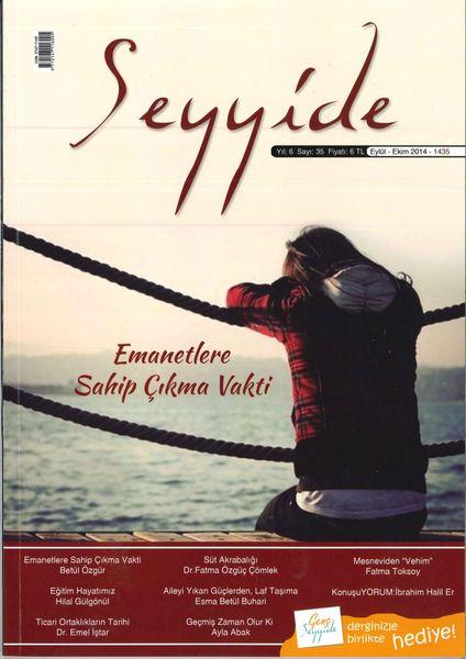 Seyyide dergisinin 35. sayısı çıktı
