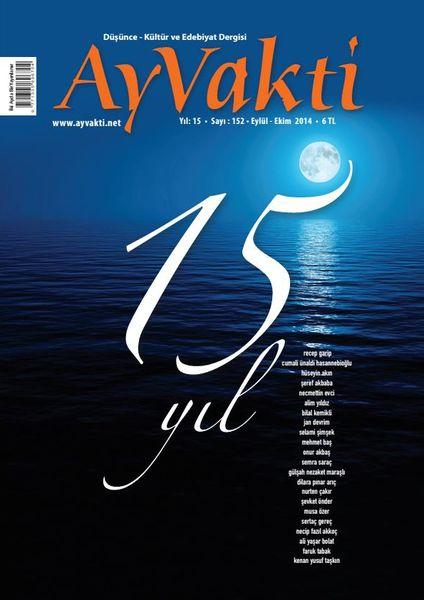 Ay Vakti dergisi 15 yaşında
