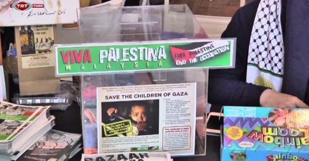 Filistin mücadelesine sanatla dikkat çekiyor