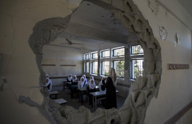 Planlı olarak okullar hedef alındı Gazze'de