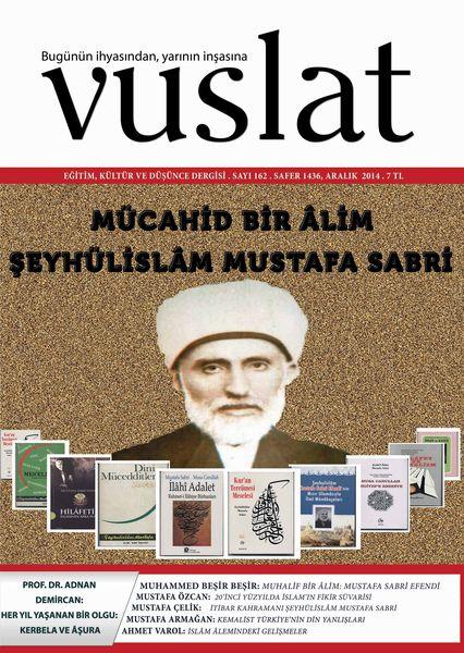 Vuslat'tan Mustafa Sabri Efendi dosyası