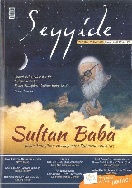 Seyyide dergisinin 36. sayısı çıktı