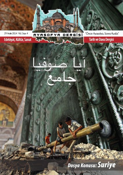 Ayasofya'dan Suriye dosyası