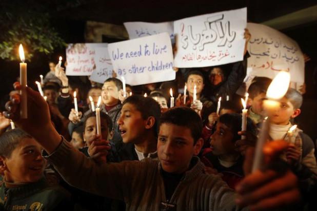 Biz bir gün elektriksiz kaldık, Gazze her gün ışıksız