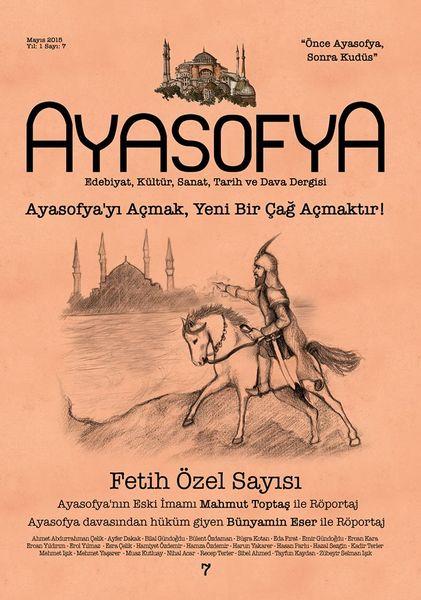 Ayasofya'nın yeni sayısı çıktı