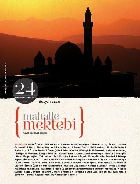 Mahalle Mektebi'nde dosya konusu 'ezan'