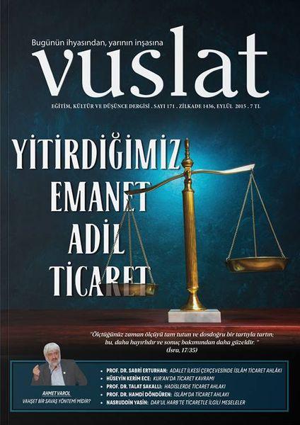 Vuslat'ın gündemi ticaret ahlakı