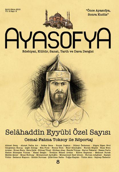 Ayasofya'nın 8. sayısı çıktı