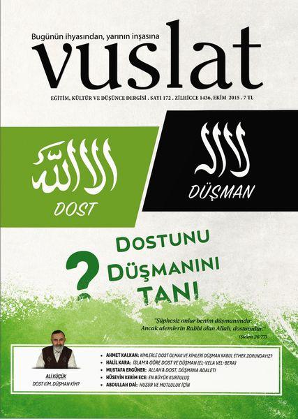 Vuslat'ın 172. sayısı çıktı