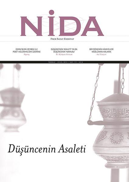 Nida'dan 'düşüncenin asaleti' dosyası