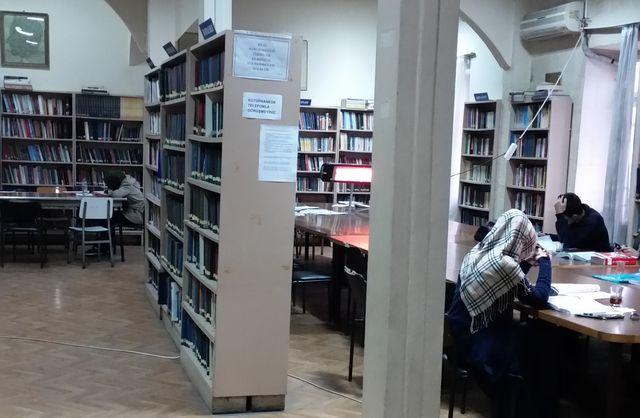 Nizip'te sakin ve huzurlu bir kütüphane