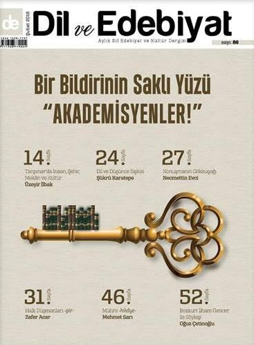 Dil ve Edebiyat'ın 86. sayısı çıktı