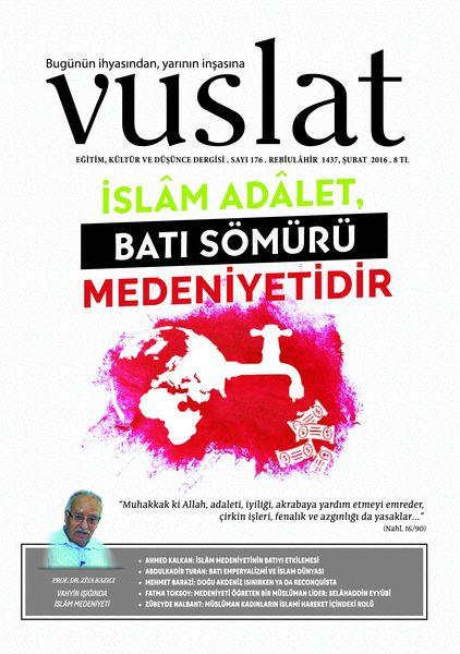Vuslat'tan 'İslam Medeniyeti ve Batı' dosyası