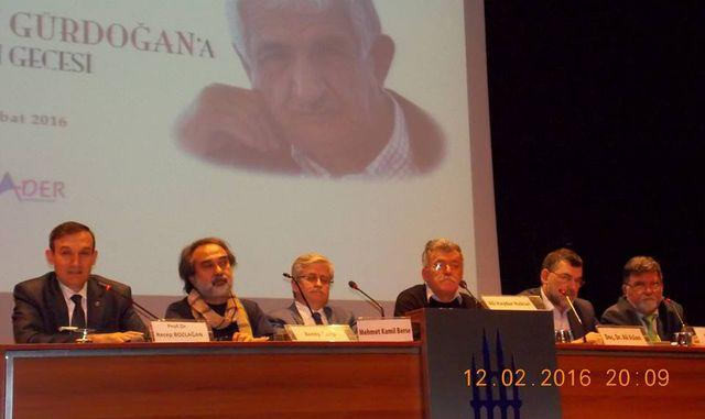 Öğrencileri ve dostları Nazif Gürdoğan'ı anlattı