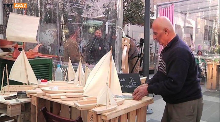 Beyrut'ta Tersane İşçiliğinden Gemi Modelciliğine (Video)