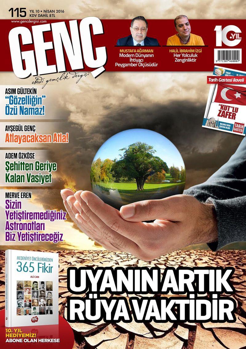 Genç dergisinin 115. sayısı çıktı