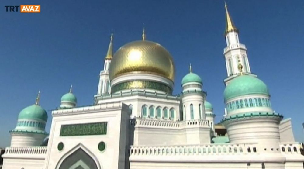 Moskova Merkez Camii'nde Mushaf Sergisi (Video)
