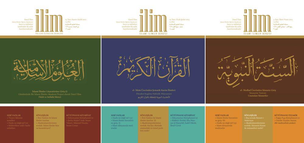 Dört Başı Mamur Bir İslami İlimler Dergisi: İlim