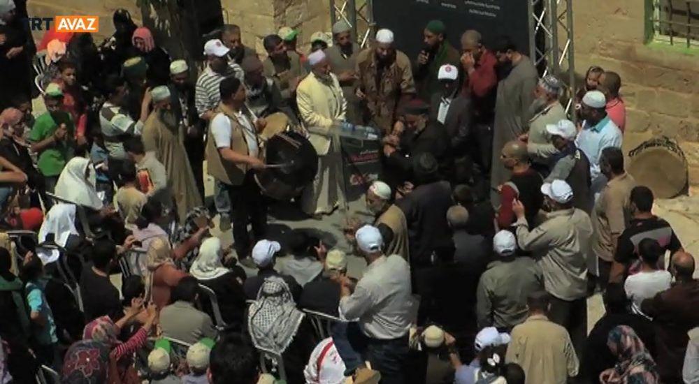 Kudüs'ün Fethi Nebi Musa Şenlikleriyle Kutlanıyor (Video)