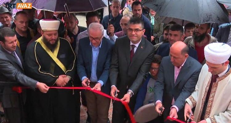 Arnavutluk'ta Albay Niyazi Bey Camii İhya Edildi (video)