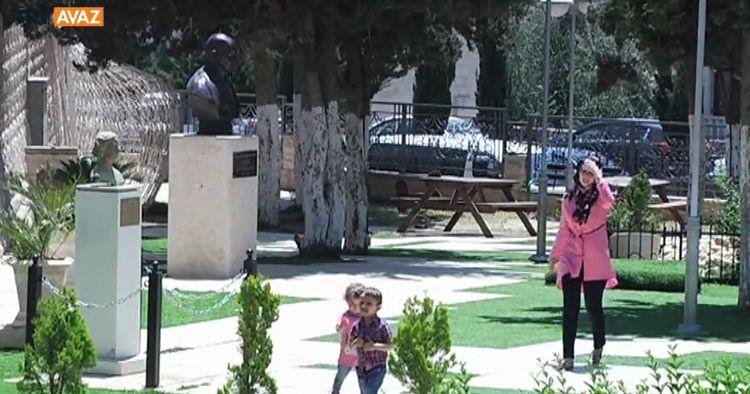 Ramallah'ın Teneffüs Mahalli: Milletler Bahçesi (video)