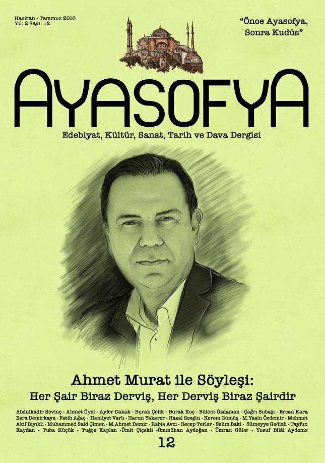 Ayasofya dergisinin 12. sayısı çıktı