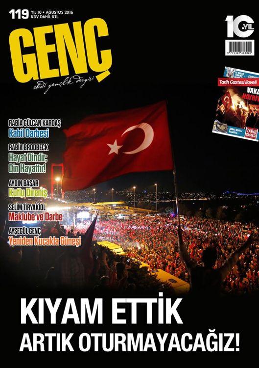 Genç dergisinin 119. sayısı çıktı