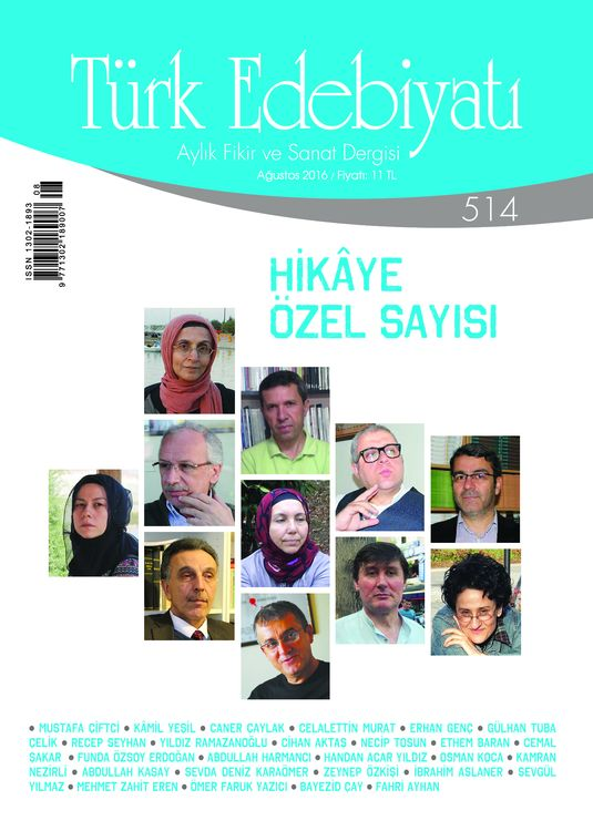 Türk Edebiyatı dergisinden hikaye özel sayısı