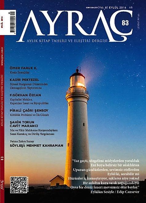 Ayraç dergisinin 83. sayısı çıktı