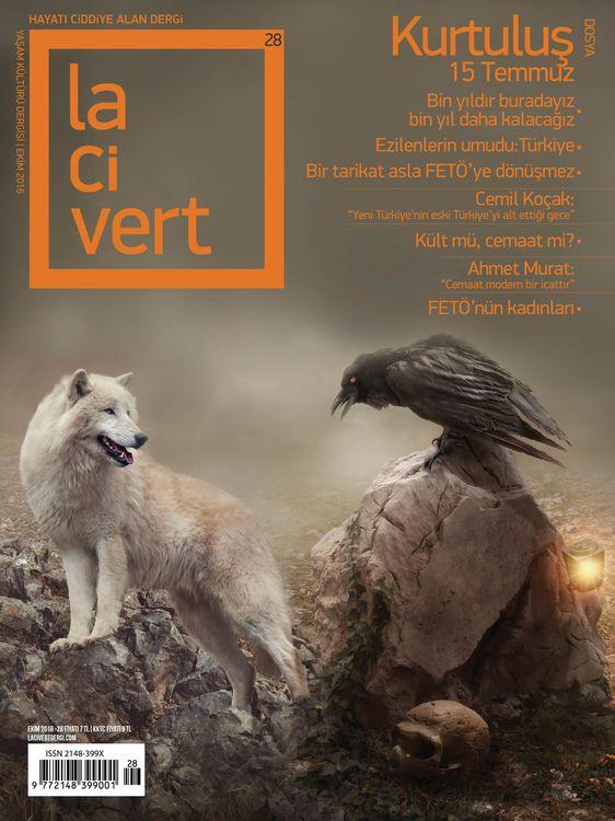 Lacivert dergisinin 28. sayısı çıktı