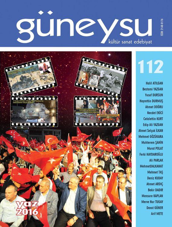 Güneysu dergisinin 112. sayısı çıktı