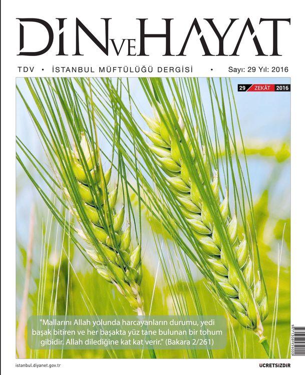 Din ve Hayat dergisinin 29. sayısı çıktı