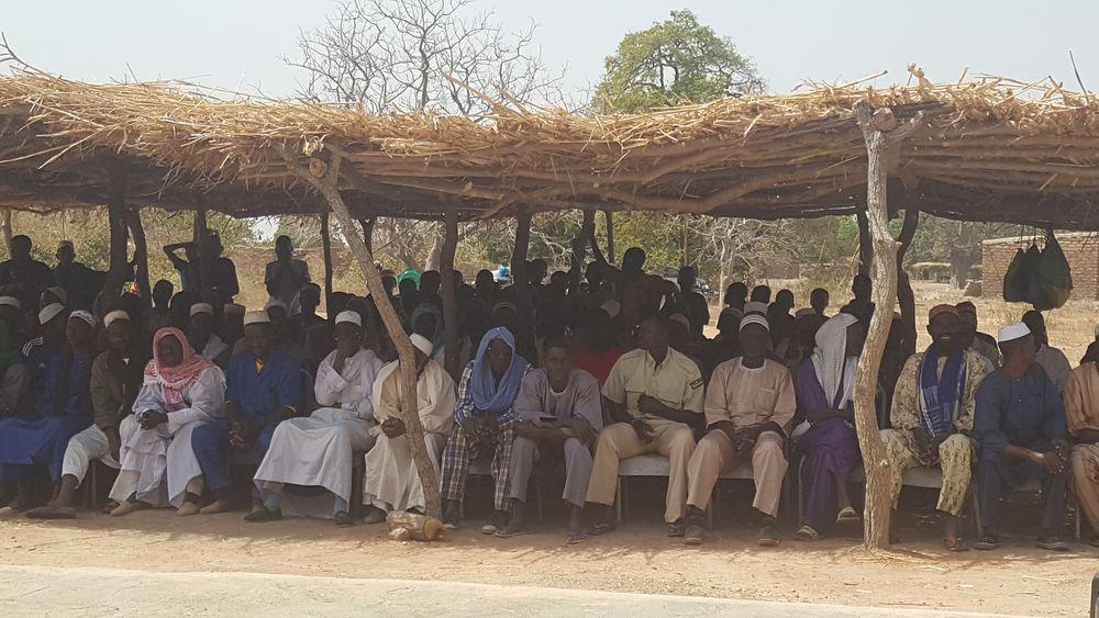 Burkina Faso'da Tek Başına Bir Ümmet