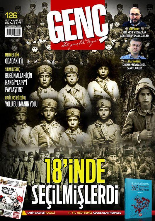 Genç dergisinin 126. sayısı çıktı