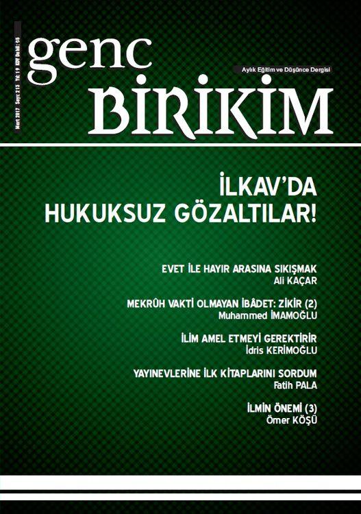 Genç Birikim dergisinin 213. sayısı çıktı
