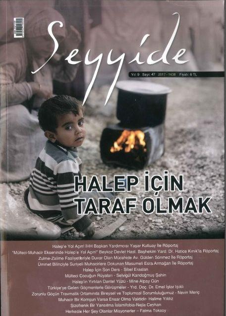 Seyyide dergisinden Halep dosyası