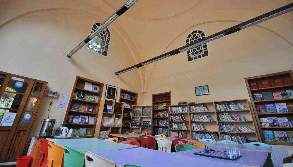 İstanbul'da Halk ve Çocuk Kütüphanelerinde Örnek Bir Uygulama