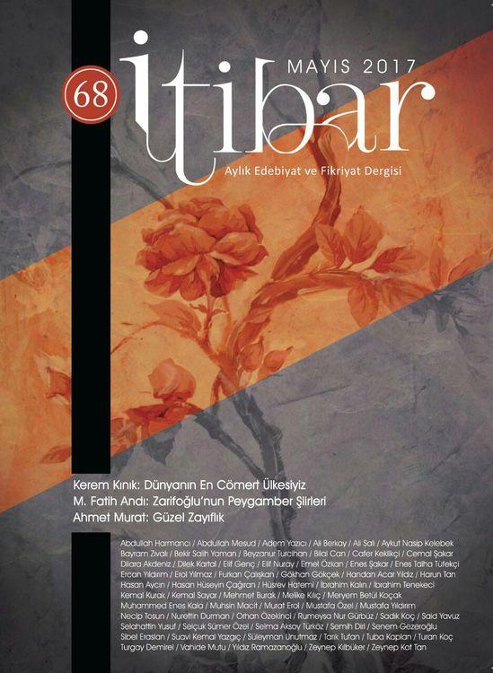İtibar dergisinin 68. sayısı çıktı