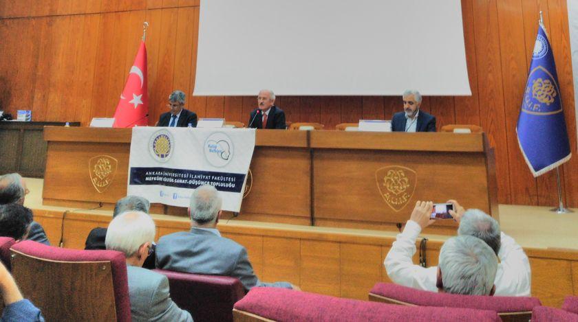 M. Esad Coşan Hocaefendi Ankara İlahiyat'ta Anıldı